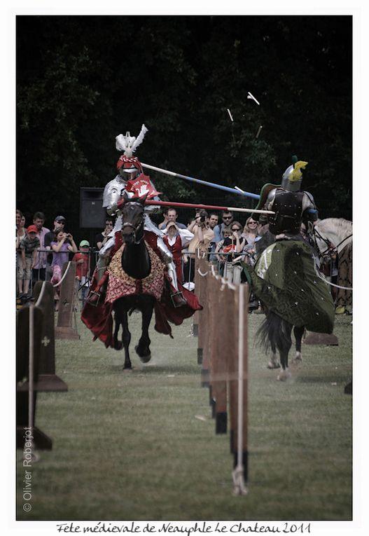 Le temps d'un week-end, les 4 et 5 juin 2011, le Lions Club de Neauphle-le-Château vous invite à vivre une expérience unique : un retour au Moyen-âge.  Grâce à cette association caritative, le cœur du village se transformera en site médiéval