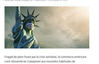 Dans les médias (228) : E-commerce Magazine : le retail américain résiste face à la pandémie