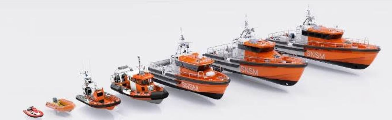 Philippe Starck signe la nouvelle livrée de la flotte de vedettes des Sauveteurs en Mer SNSM