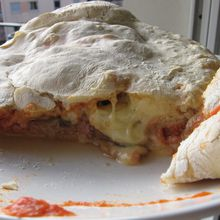 Calzone jambon-fromage