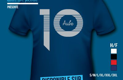 T-shirt: France - Champagne-Ardenne - Aube 10.