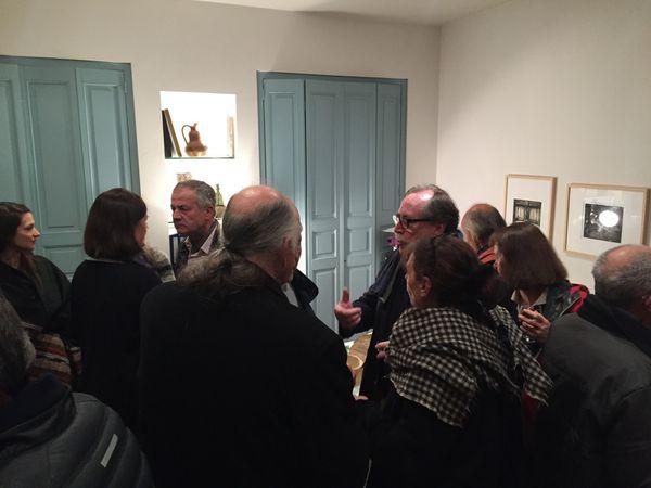 """Exposition """"Le Désert de Retz"""" automne 2016            Chez Maximilien Guiol Autographes, Bellême (Orne)"""