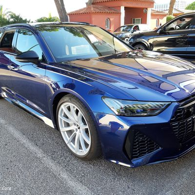 Blue RS6