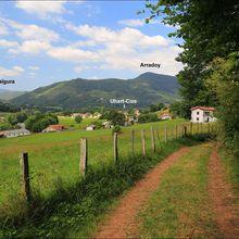 Balade autour du Kurutxamendi depuis Saint-Jean-Pied-de-Port (Pyrénées-Atlantiques 64)