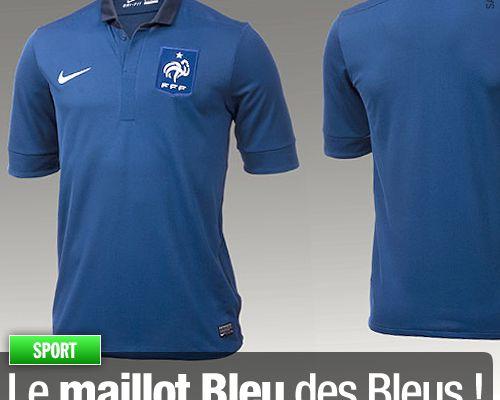 Le maillot Bleu des Bleus !