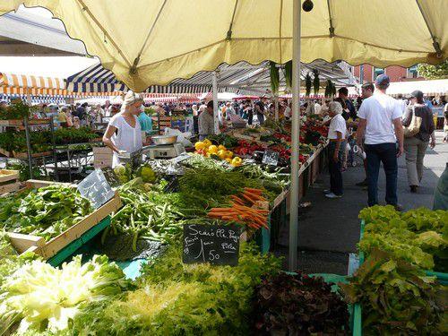 Le marché provençal