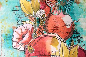Art Journal_Ronds et papillons