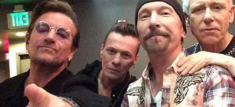 U2 -Théâtre El Capitan -Jimmy Kimmel -23-05-2017