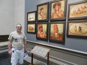 Dans les rues de Washington et Wim au musée National Gallery of Art