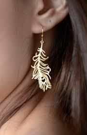 gorgeous feather jewelries
