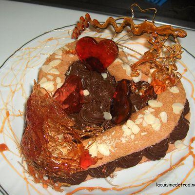 Gâteau pour les amoureux