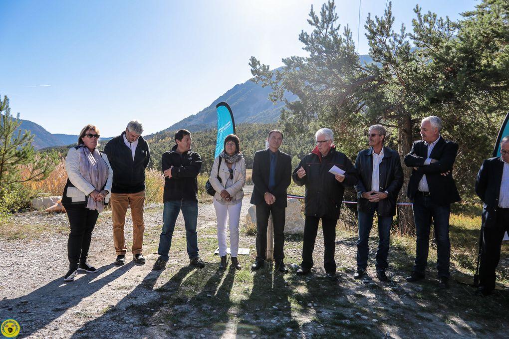 Thorame Basse : Les élus s'essaient au parcours ludique du lac des Sagnes