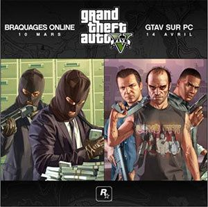 GTA5 repoussé sur #PC !