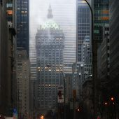 Park Avenue Dawn In Color by Dave Beckerman