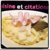 Mon écrasé de pomme de terre... Un bon plat de notre enfance ! - Le blog de cuisineetcitations-leblog