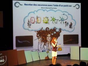 Marie-Charlotte MORIN, chercheuse-doctorante, sa thèse en 180 secondes