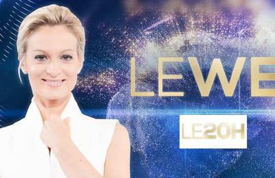 Le JT du week end 20h de TF1 du 25 octobre