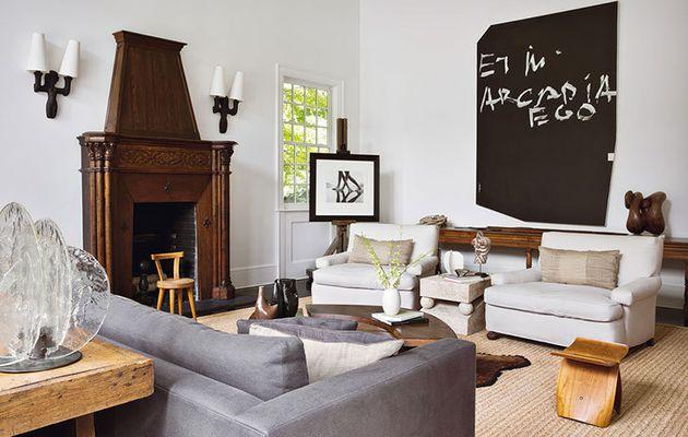 Le mélange des styles dans une résidence près de New-York