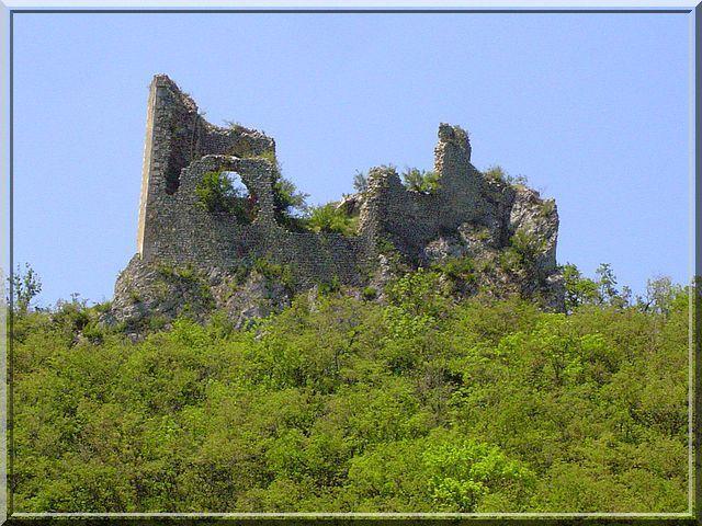 Diaporama château de Pélafol - Barbières