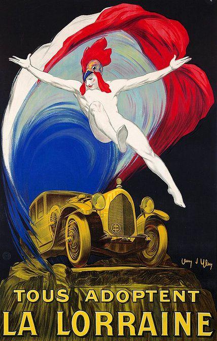 PUBLICITES : ES  GRANDS  NOMS  DE  L'AFFICHE...   Jean  D'YLEN.