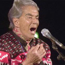 96 Años del natalicio de la cantante Chavela Vargas