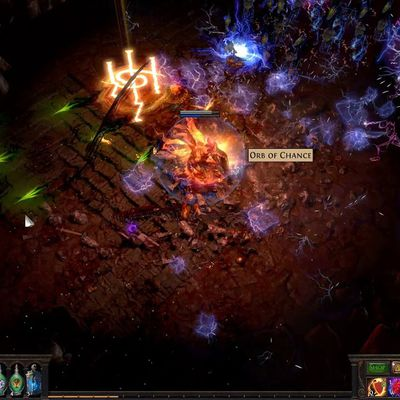 Path Of Exile: The Potions Act Over Time Rather Than Instantaneously