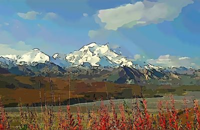 Alaska : Fairbanks et le Denali
