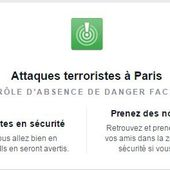 Attaques terroristes à Paris : CONTRÔLE D'ABSENCE DE DANGER FACEBOOK - OOKAWA Corp.