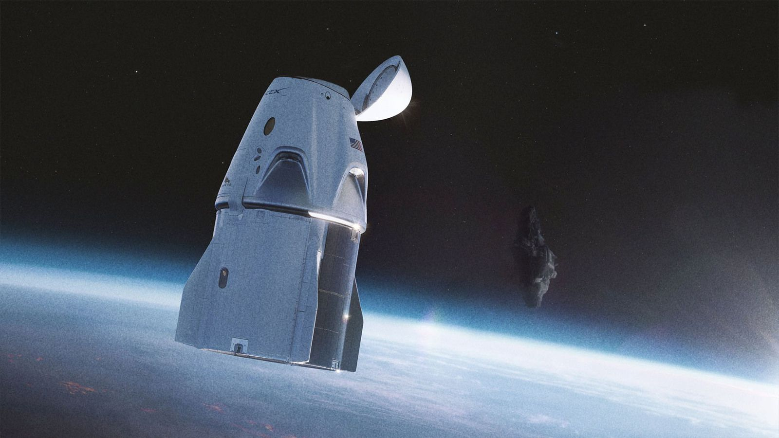 👽 SpaceX Crew Dragon Spacecraft Close Encounter With UFO On Its Way To ISS