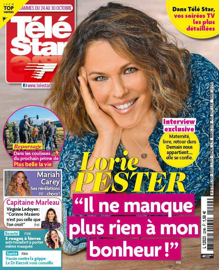 La une des nouveaux numéros des revues TV : Courbet, Lorie, Doré, Louane…