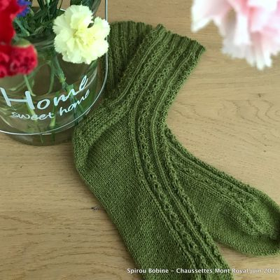 Chaussettes Mont Royal by SpirouBobine