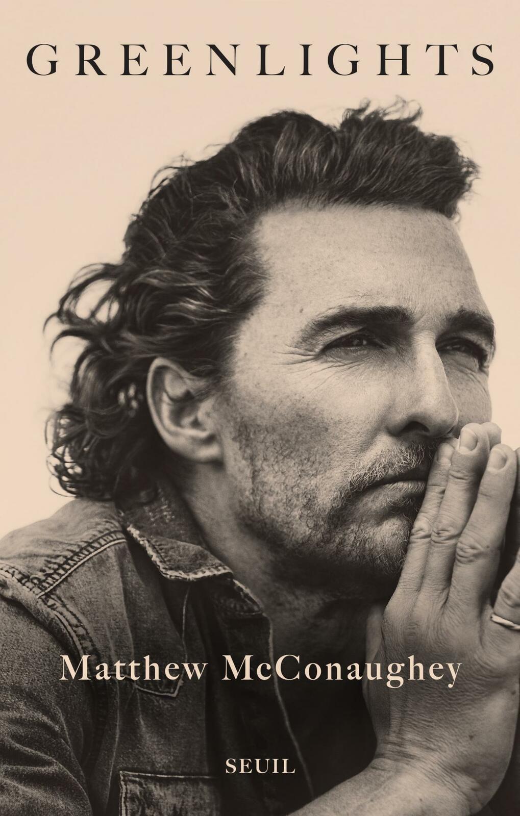 Publication du livre Greenlights, du comédien Matthew McConaughey (version française).