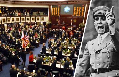 Goebbels en Floride