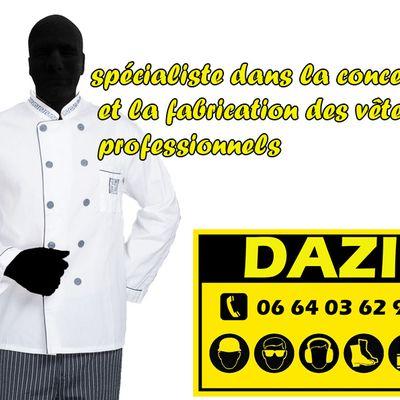 conception et fabrication des vêtements de travail au maroc
