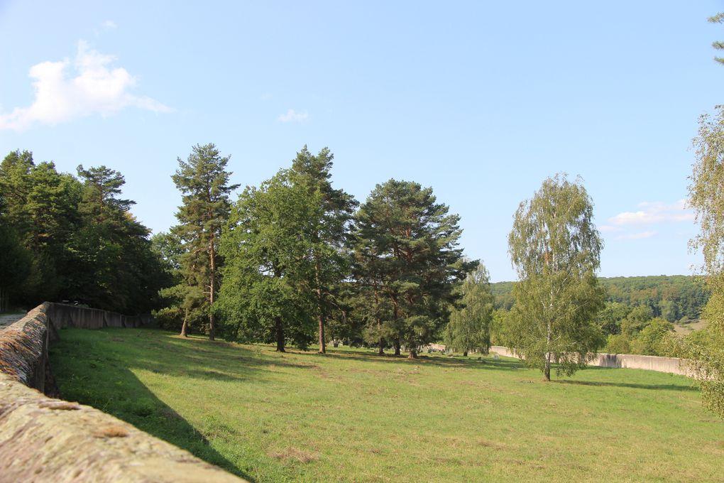 Rosenwiller, son cimetière israélite et Le sentier des demoiselles de Pierre à Mollkirch
