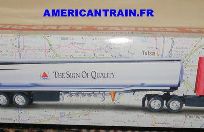Camion-citerne Américain « Citgo The Sign of Quality » échelle O
