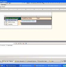 Advanced Reporting with Matrix Control in SSRS