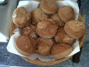 Petits pains complet