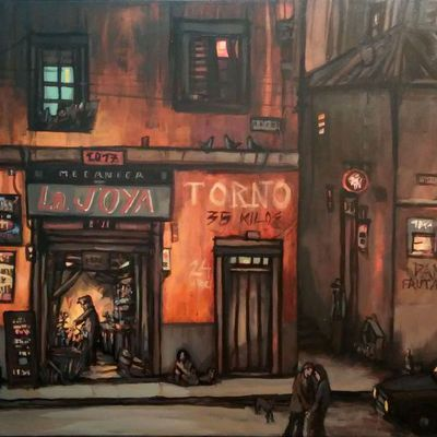Nuevas pinturas de Eduarda Mena