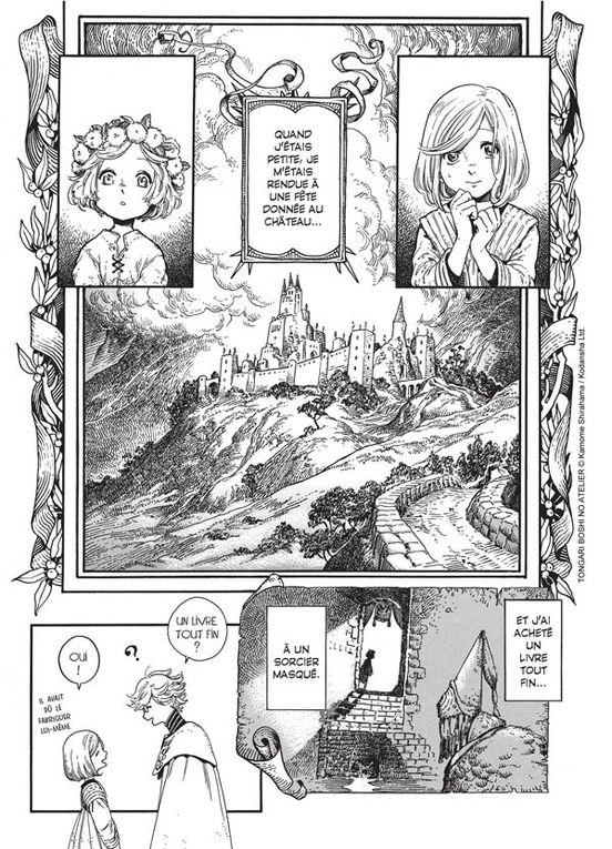 L'Atelier des Sorciers - Tome 1. Kamome Shirahama -2018 (Manga)
