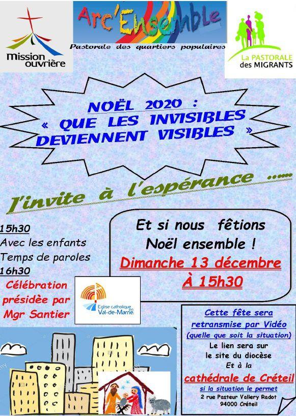 Retransmission Célébration de Noël en Mission Ouvrière à Créteil