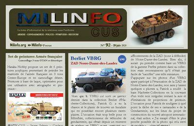 """Milinfo-Focus n° 92 : VBRG """"Notre-Dame-des-Landes"""" et Berliet Aurochs"""