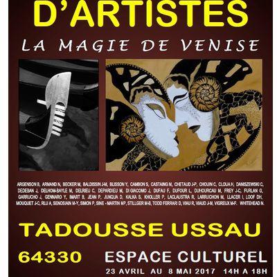 Salon de peinture 2017 Tadousse Ussau