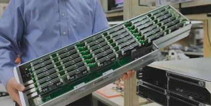 2 800 serveurs dans un rack