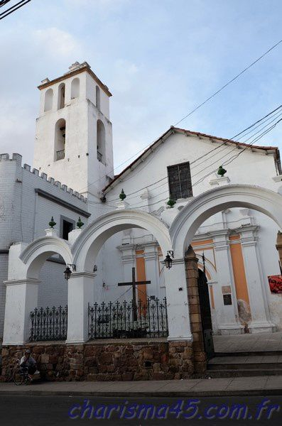 Eglise San Francisco (Bolivie en camping-car)