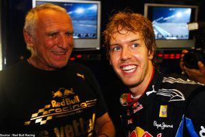 Red Bull espère garder Vettel encore au moins trois ou quatre ans
