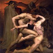 William Bouguereau - Dante et Virgile aux enfers - LANKAART