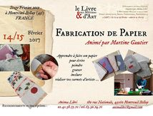 MONTREUIL BELLAY stage papier