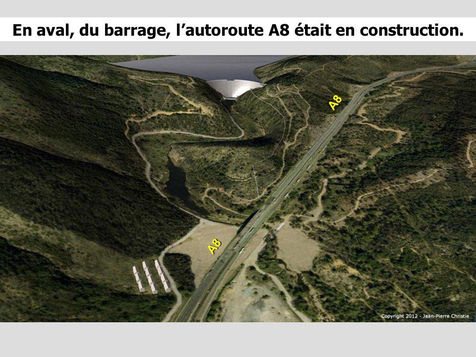 France - Le barrage de Malpasset