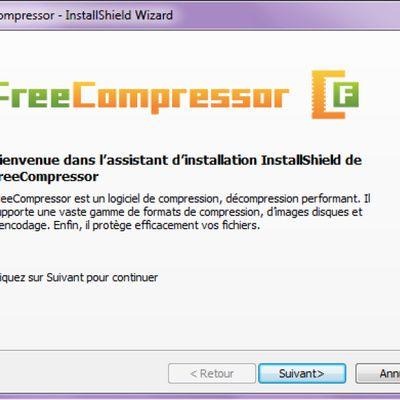 Où télécharger gratuitement le programme Free Compressor?